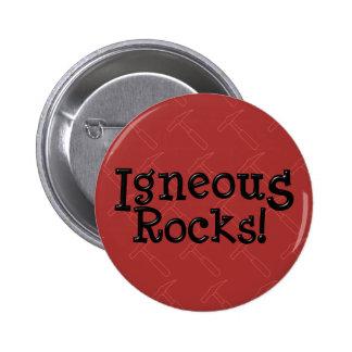 Igneous Rocks! Pinback Button