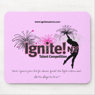 Ignite! NY Pink Mousepad
