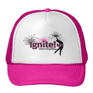 Ignite! NY Pink Trucker Hat