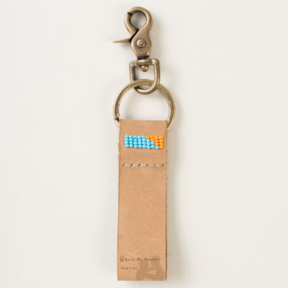 Ignite the Passions Leather Keychain