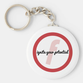 Ignite Your Potential (CIrcle) Keychain