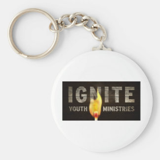 Ignite youth ministries keychain