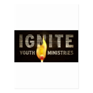 Ignite youth ministries postcard