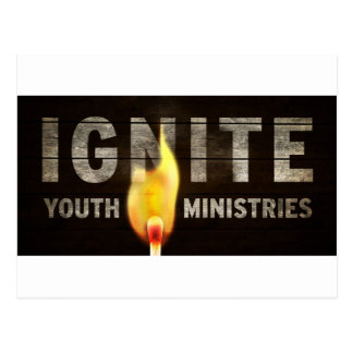Ignite youth ministries postcards