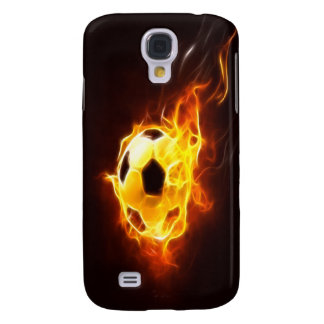 Ignited Soccer Ball  Galaxy S4 Cover