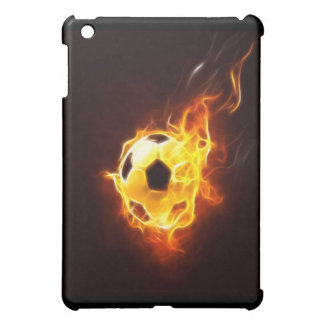 Ignited Soccer Ball  Cover For The iPad Mini