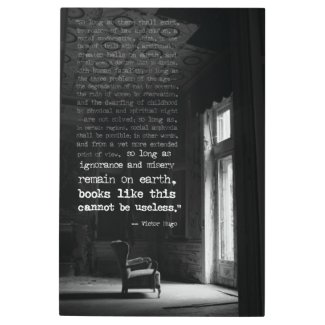 Ignorance and Misery Victor Hugo Quote Wall Art