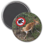Ignorance Is Bliss 3 Inch Round Magnet