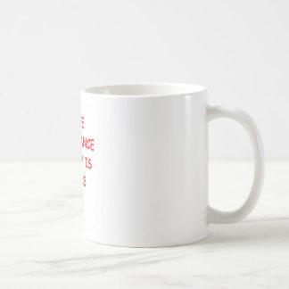 ignorance is bliss classic white coffee mug
