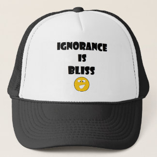 Ignorance Is Bliss hat