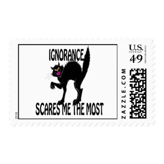 Ignorance Scares Me the Most Stamps