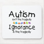 Ignorancia del autismo tapetes de ratón