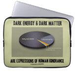 Ignorancia oscura de las expresiones de la materia fundas portátiles