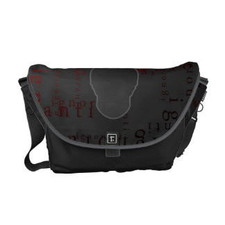 ignoranti commuter bag - dead and buried