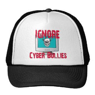 Ignore a los matones cibernéticos gorros bordados