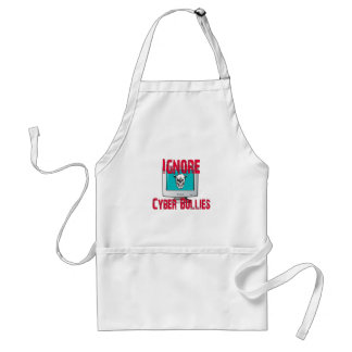 Ignore Cyber Bullies Adult Apron