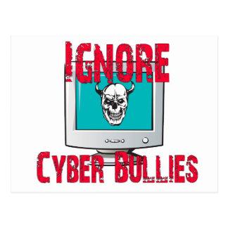 Ignore Cyber Bullies Postcard