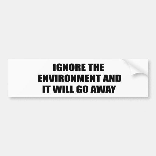 Ignore el ambiente y saldrá pegatina para auto