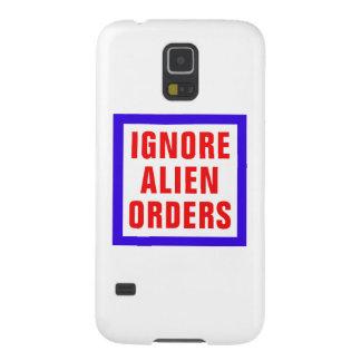 Ignore las órdenes extranjeras