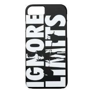 IGNORE LIMITS - Women's CrossFit WOD Motivational iPhone 8/7 Case
