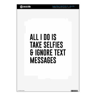 Ignore Texts Skins For iPad 3