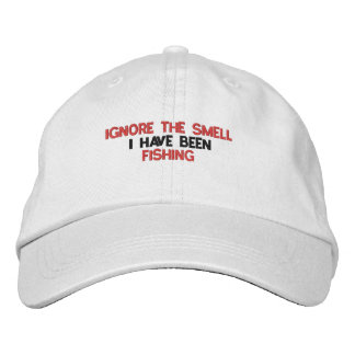 Ignore The Smell Fishing Hat Embroidered Hat