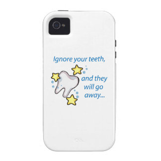Ignore Your Teeth,And They Will Go Away... iPhone 4/4S Covers