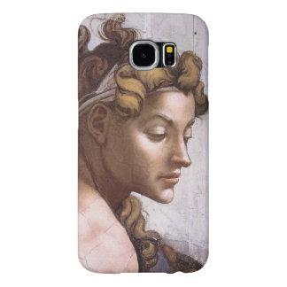 Ignudi female Fresco Sistine Chapel Michelangelo Samsung Galaxy S6 Case