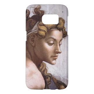 Ignudi female Fresco Sistine Chapel Michelangelo Samsung Galaxy S7 Case