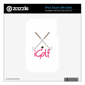iGolf Skin For iPod Touch 4G