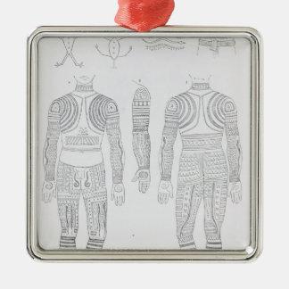 Igorrote tattooing ornaments