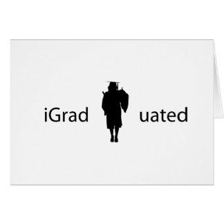 iGraduated Tarjeta De Felicitación