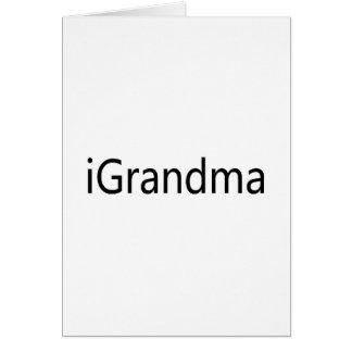 iGrandma Card