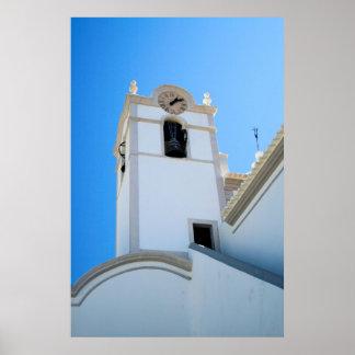 Igreja de Sao Lourenco dos Matos Poster