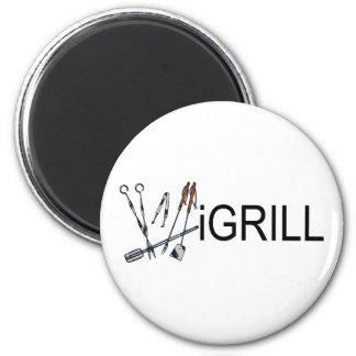iGrill 2 Inch Round Magnet