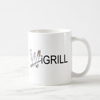 iGrill Classic White Coffee Mug