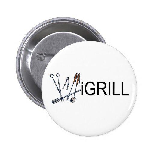 iGrill Pinback Button