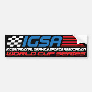 IGSA World Cup Bumper Sticker