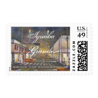 IGUABA GRANDE , Rj - BRASIL -  by LEOMARIANO artis Postage Stamps