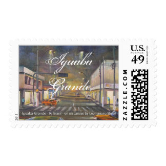IGUABA GRANDE , Rj - BRASIL - by LEOMARIANO artist Postage Stamp