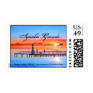 IGUABA GRANDE - Rj BRASIL Stamp