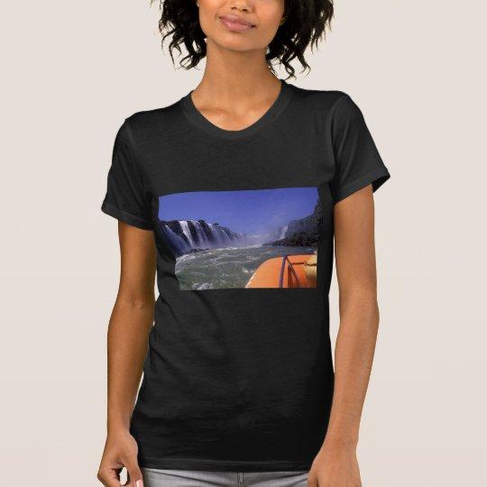 Iguacu Brazil Waterfalls Boat Trip T-Shirt