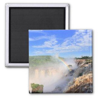 iguaçu falls 2 inch square magnet