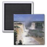 Iguacu Falls, Brazil 2 Inch Square Magnet