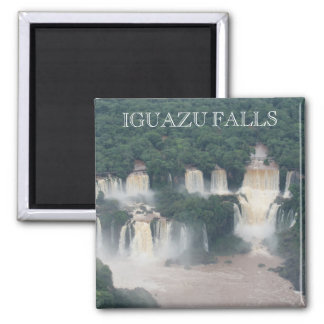 iguaçu falls brazil 2 inch square magnet