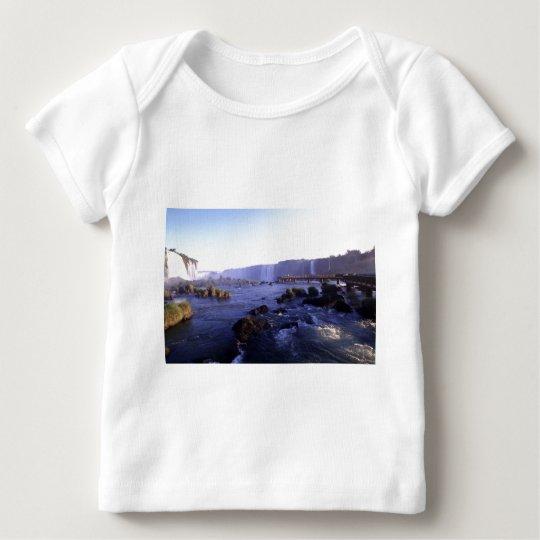 Iguacu Falls Brazil and Argentina Baby T-Shirt