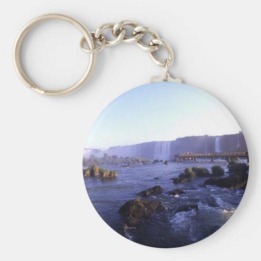 Iguacu Falls Brazil and Argentina Key Chains