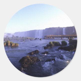 Iguacu Falls Brazil and Argentina Stickers