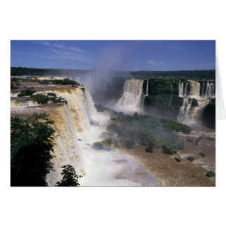 Iguacu Falls, Brazil Card