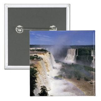 Iguacu Falls, Brazil Pinback Button